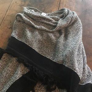CAbi Poncho Shawl Sweater